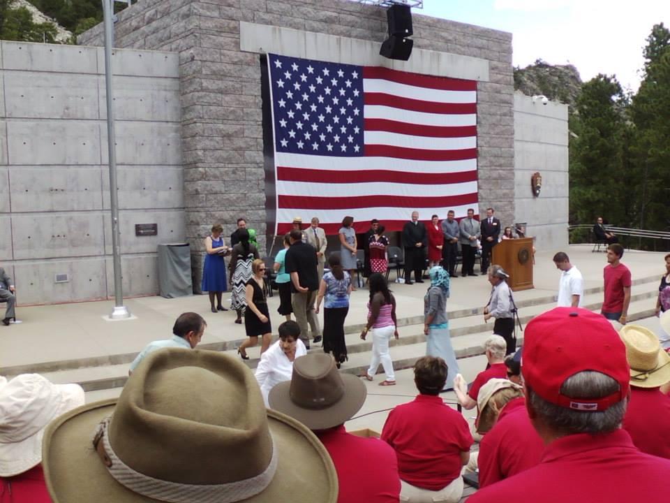 DCU At Mt Rushmore