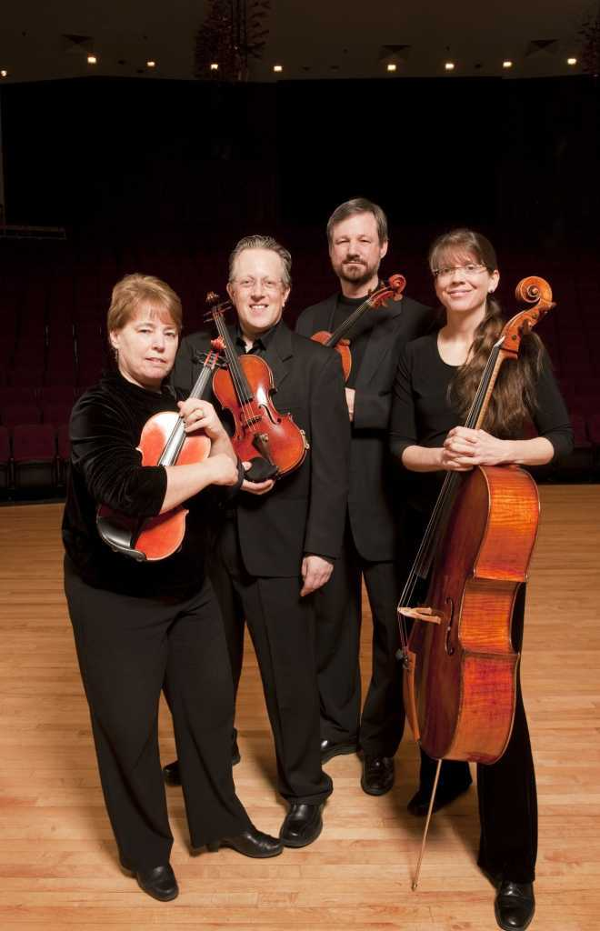 Fine Arts, Music Faculty, String Section;  Sherry Sinift, James Przygocki, Kathleen McKeage, Beth Vanderborgh, John Fadial