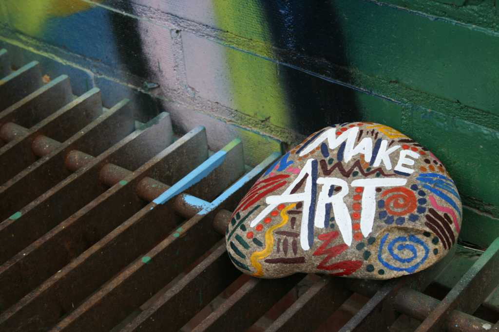 make art rock