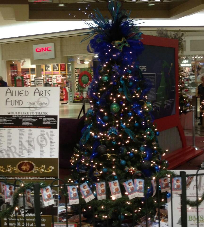 Allied Arts Holiday Tree
