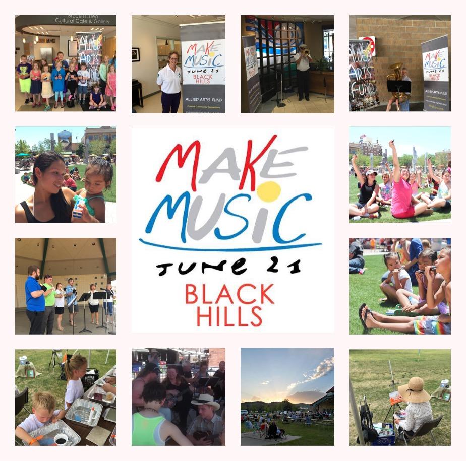 Make Music Black Hills June 21st
