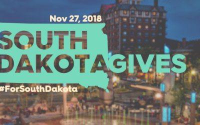 South Dakota Gives November 27 Celebrate the Gift of Giving #forsouthdakota