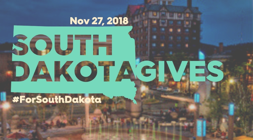 South Dakota Gives November 27 Celebrate the Gift of Giving #forsouthdakota