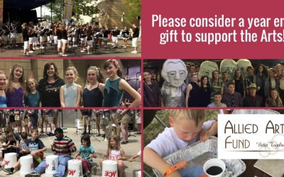 We Could Really Use Your Help With A Year End Donation For The Arts!