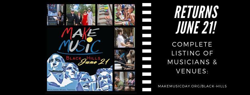 Make Music Black Hills